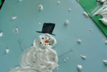 نقاشی سه بعدی برف