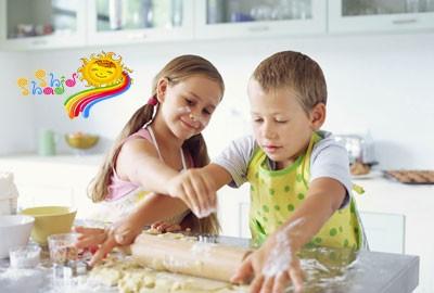 مزایای آشپزی بچه ها