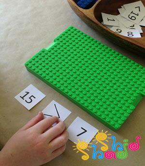 بازی لگو آموزش ریاضی