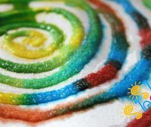 نقاشی-نمک کودان