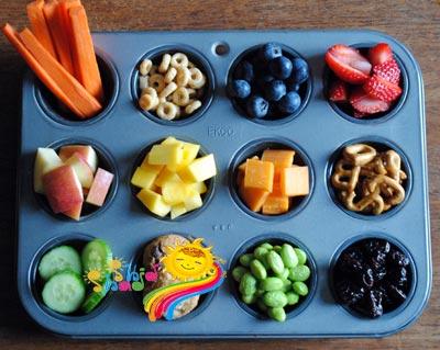 انواع سبزیجات برای کودکان
