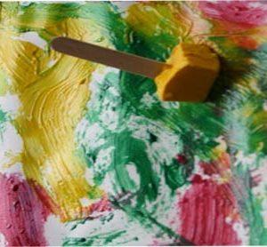 خلاقیت نقاشی-با-یخ