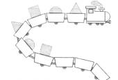 دانلود کاربرگ الگویابی برای کودکان