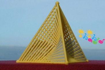 کاردستی هندسی سهمیگون هذلولی