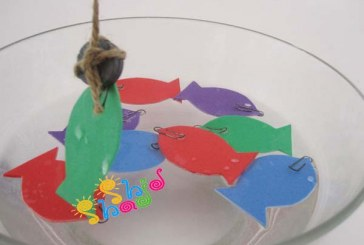 بازی شاد ماهیگیری با آهنربا