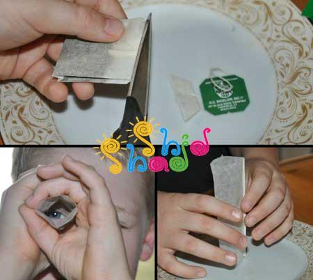 آزمایش-موشک برای کودک