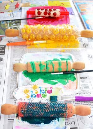 نقاشی-چاپ-کودک