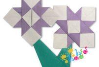 اوریگامی-گل-آیریس