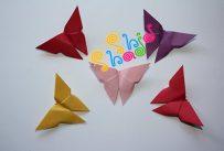 اوریگامی پروانه