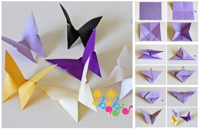 اوریگامی-پروانه
