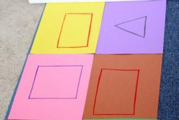بازی اشکال هندسی و رنگها