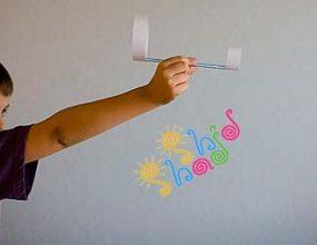 کاردستی-هواپیما-کاغذی