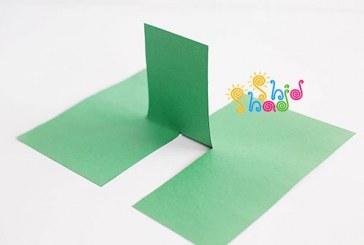 حقه ساده با کاغذ