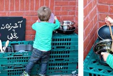 بازی آشپزی ( آشپزخانه گِلی و آشپزی با گِل و خاک)