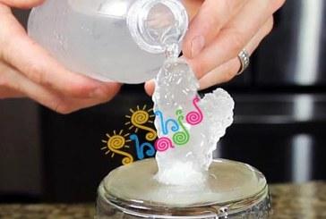 آزمایش تبدیل آب به یخ فوری