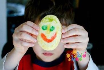 شیرینی با نقاشی تخم مرغی