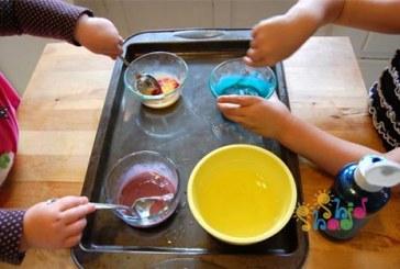 ساخت رنگ تخم مرغی