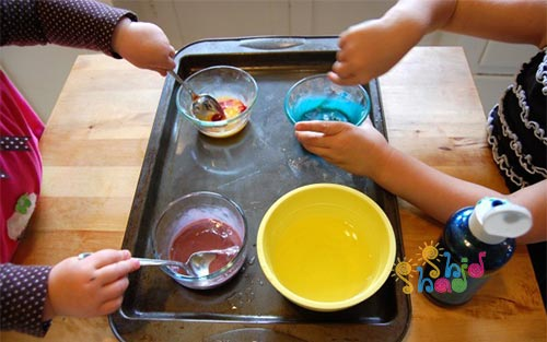 ساخت رنگ-تخم-مرغی