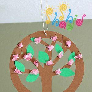 کاردستی درخت-بهاری