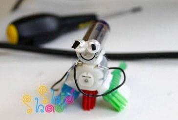 کاردستی با علم رباتیک