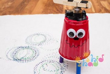 ساخت ربات هنرمند با هدف آموزش رباتیک به کودکان