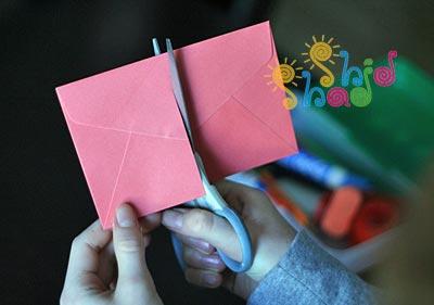 عروسک انگشتی با کاغذ