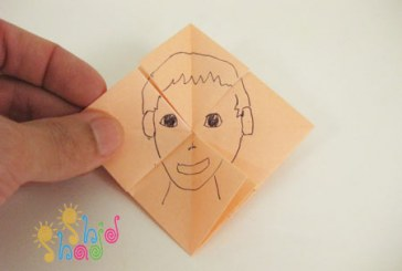کاردستی اوریگامی ساخت اسباب بازی کاغذی