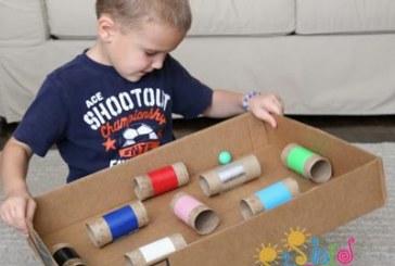 بازی ماز توپی یک بازی برای هماهنگی چشم و دست