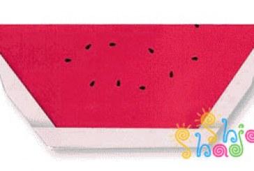 اریگامی ساده هندوانه