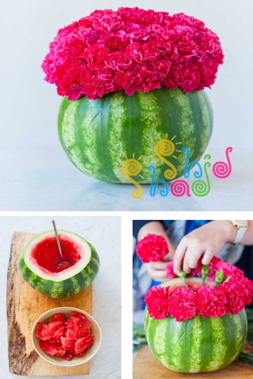how-to-make-a-watermelon-vase