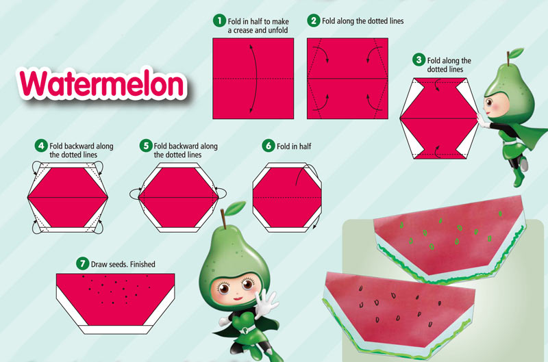 origami_water-melon