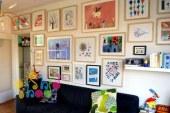 دکوراسیون منزل با کارهای هنری کودک