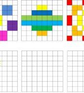 الگو با صفحهی شطرنجی