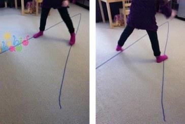 بازی حرکتی , آموزش باریک و پهن