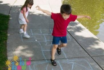 بازی های تعادلی برای کودکان