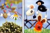 ۱۳ مدل کاردستی و تزیین تخم مرغ عید برای کودک و بزرگسال