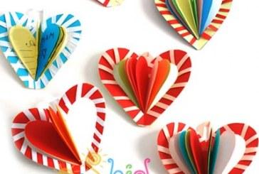 هدیه دست ساز روز مادر قلبی
