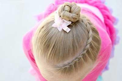 موی-دختر-بچه