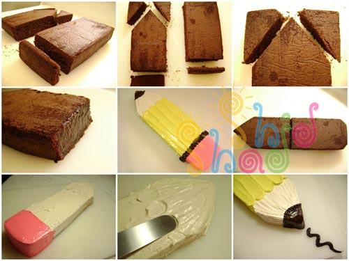 کیک الفبا