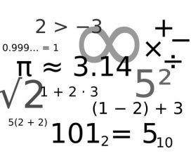 علایم ریاضی